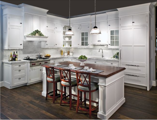 Staggered Kitchen Cabinets Heights - Rooms