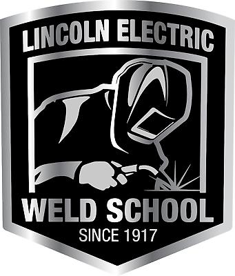 Lincoln Electric Welding School Equipment Logo Vinyl Sticker Decal Toolbox Truck Ebay Welding Schools Welding Stickers School Equipment