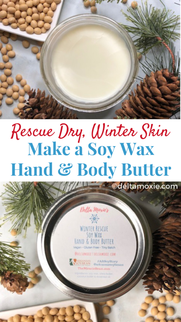 How to Make Soy Wax Hand and Body Butter to Rescue Winter ...