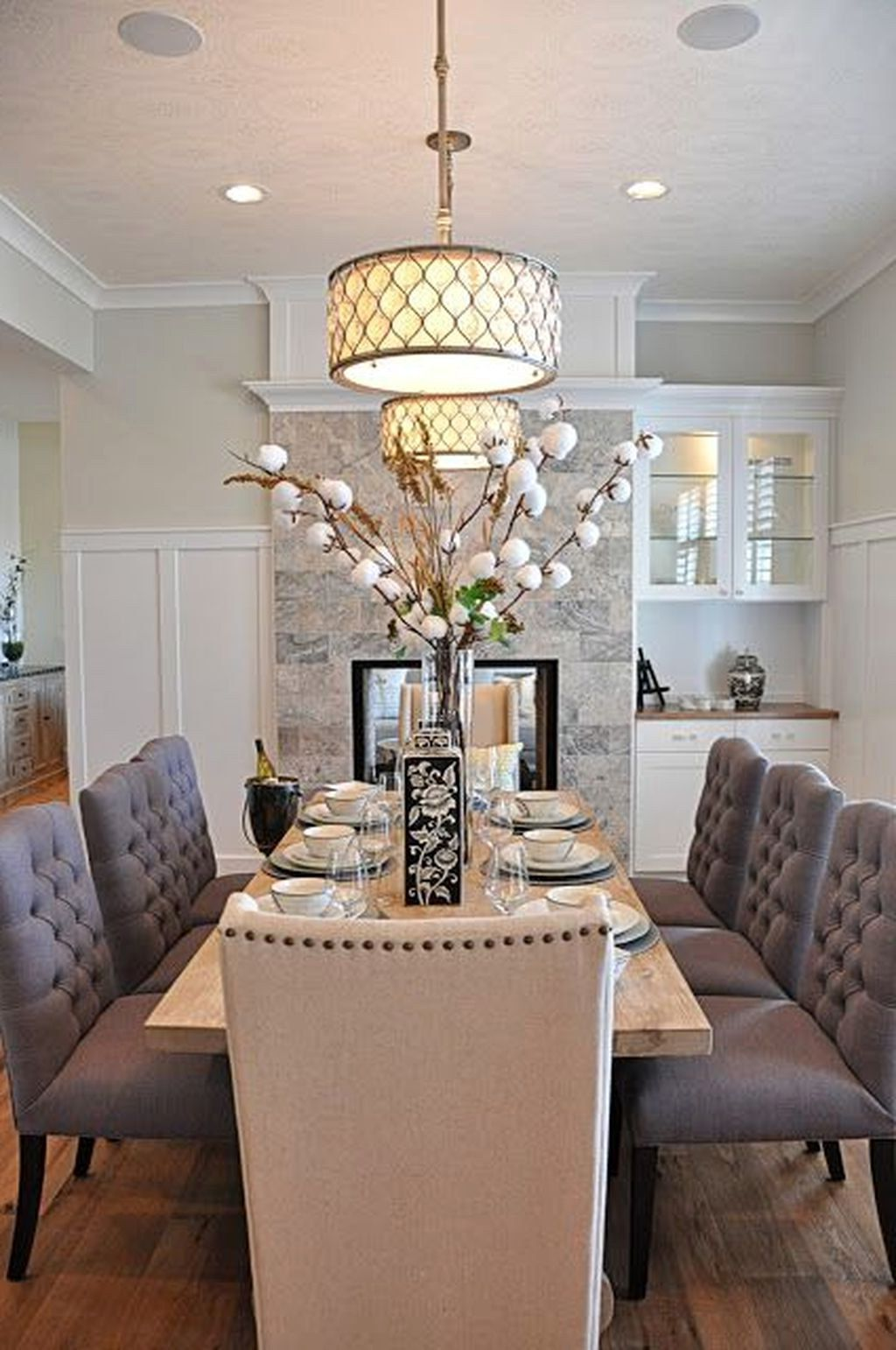 33 Amazing Dining Rooms Decoration Ideas 06 Best Home Design Ideas Dining Room Decor Elegant Dining Room Beautiful Dining Rooms