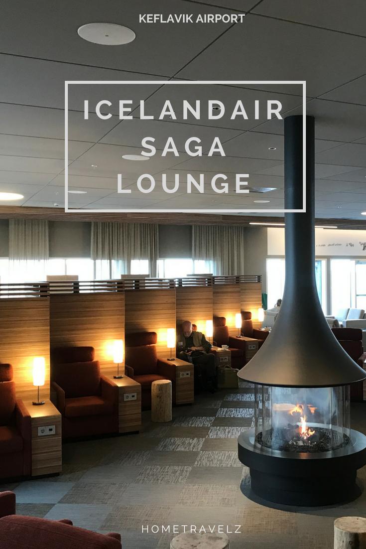 Die neue Saga Lounge Keflavik Airport Flughafenlounge