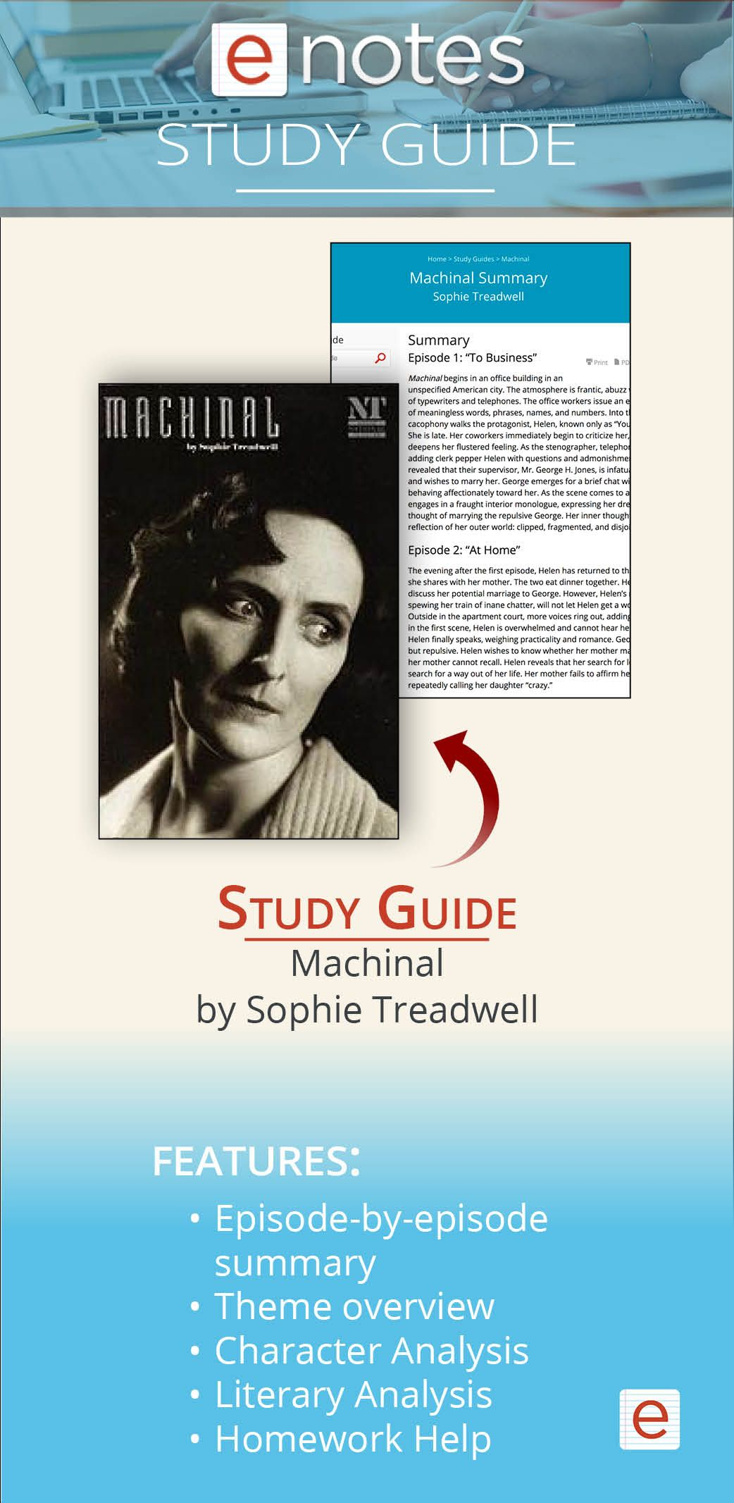 Read Our Summary And Study Guide Of Machinal A Play About