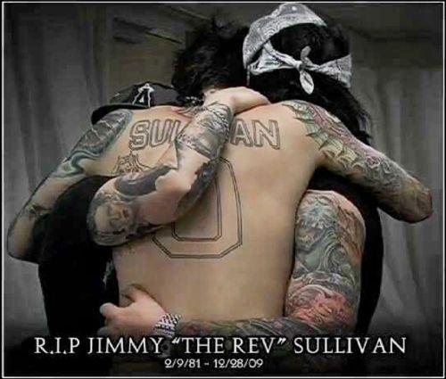 Jimmy Nos Sempre Te Amaremos Jimmy The Rev Sullivan Avenged