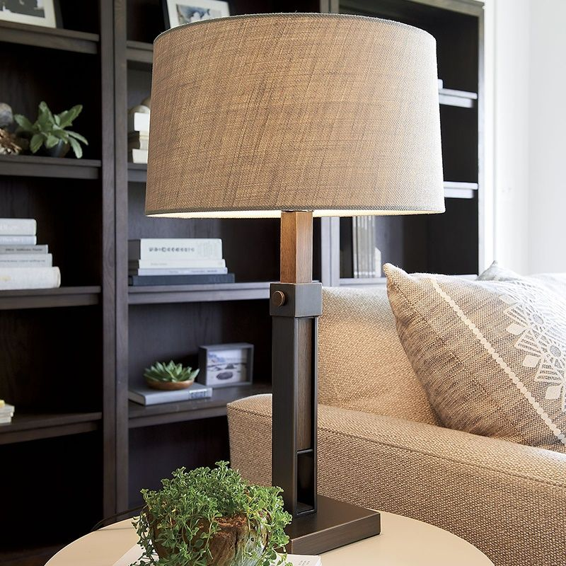 American Style Country Simple Modern Designer Creative European Sample Room Living Room Bedroom Bedsides Personally Table Lam Bronze Table Lamp Table Lamp Lamp