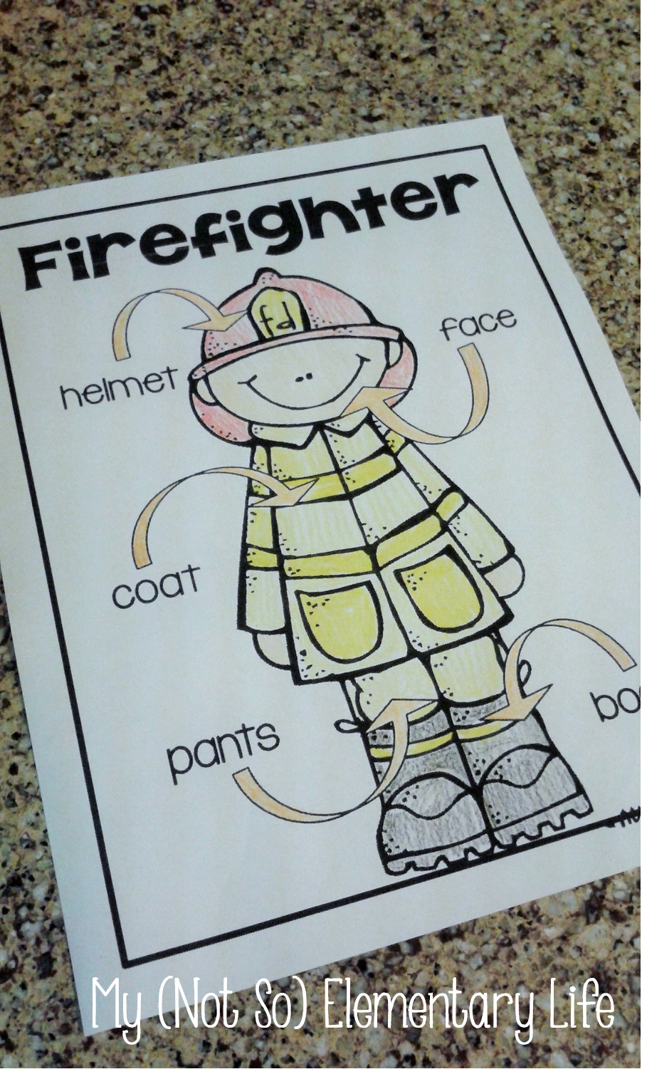 October is Fire Safety Month...Fire Safety Themed Labeling ...