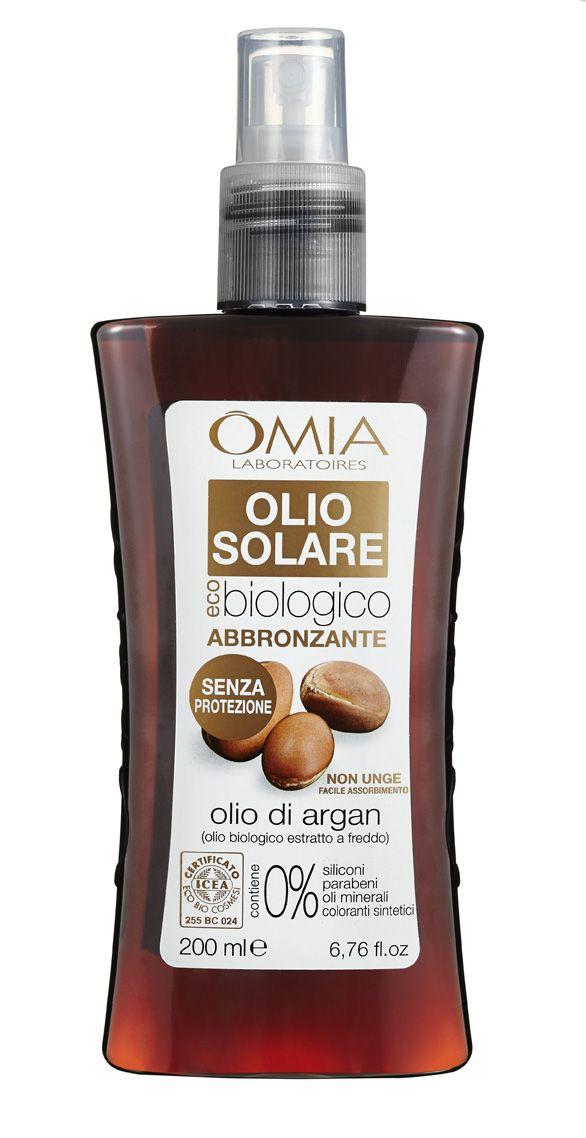 #pelle già abbronzata?? Esaltala con l'olio abbronzante all'olio di argan di #omia. Idratazione e protezione per essere la star della prossima estate  #omia #wellness #beauty