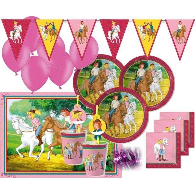 Photo of XXL 62 Teile Bibi und Tina Party Deko Set – für 6-8 Kinder Geburtstag