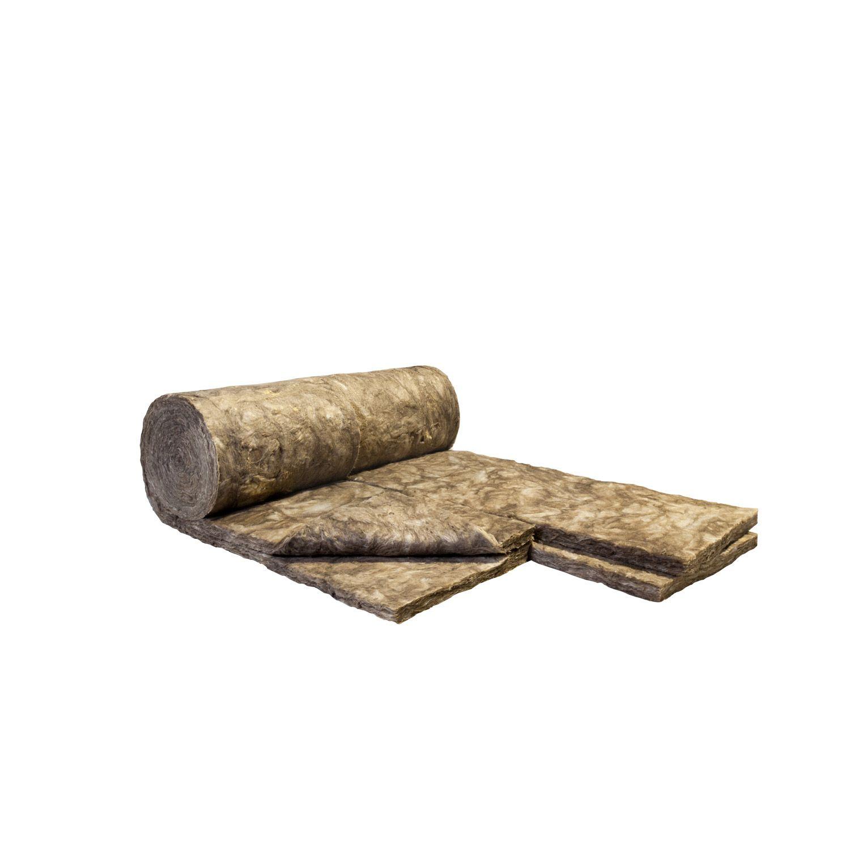 2 roul. de laine de verre Cloison 037 Nu KNAUF INSULATION 5.4x0.60m, ép.70mm 3,45€/m2