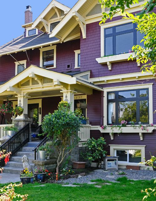 Vancouver Heritage House Restoration And Exterior Repaint Houzz House Paint Exterior Exterior Paint Colors For House Exterior House Colors