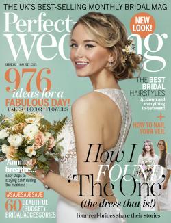 Perfect Wedding Magazine May 2017 Issue Featuring Ella Rosa Style Be360 Weddingmagazine