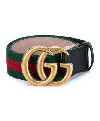 ca812b7e8a6 GUCCI - Web   Logo Leather Belt