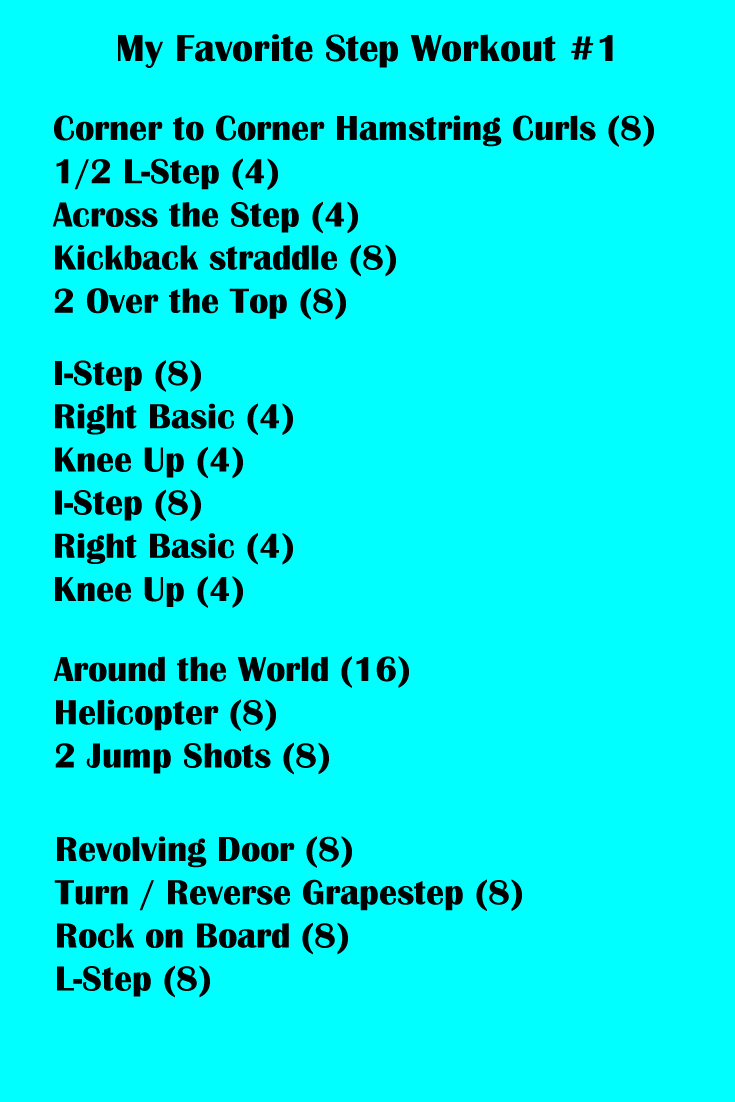25+ Aerobic step workout at home inspirations