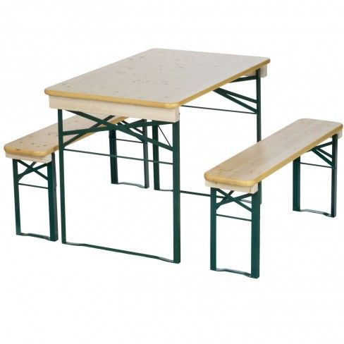 Balcony Beer Garden Folding Wood Table U0026 Bench // These Are Soo Cute, I