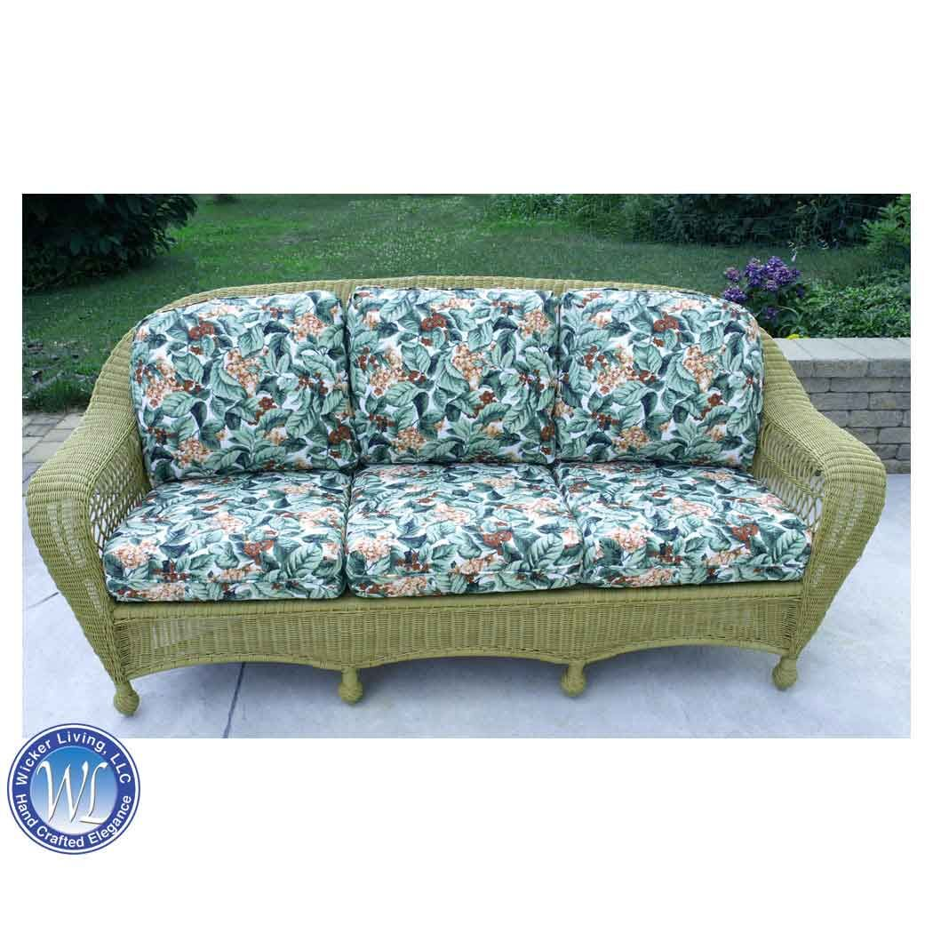 Replacement Cushions For Rattan Sofa In 2020 Outdoor Wicker Furniture Patio Furniture Replacement Cushions Deep Seat Cushions