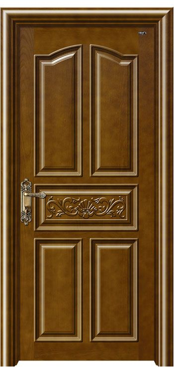 Asian Style Asian Style Wooden Door Wood Panel Door