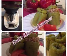 Rezept Türkische gefüllte Paprika 'Dolma' im Thermomix von Fadi´s Küchenabenteuer - Rezept der Kategorie sonstige Hauptgerichte