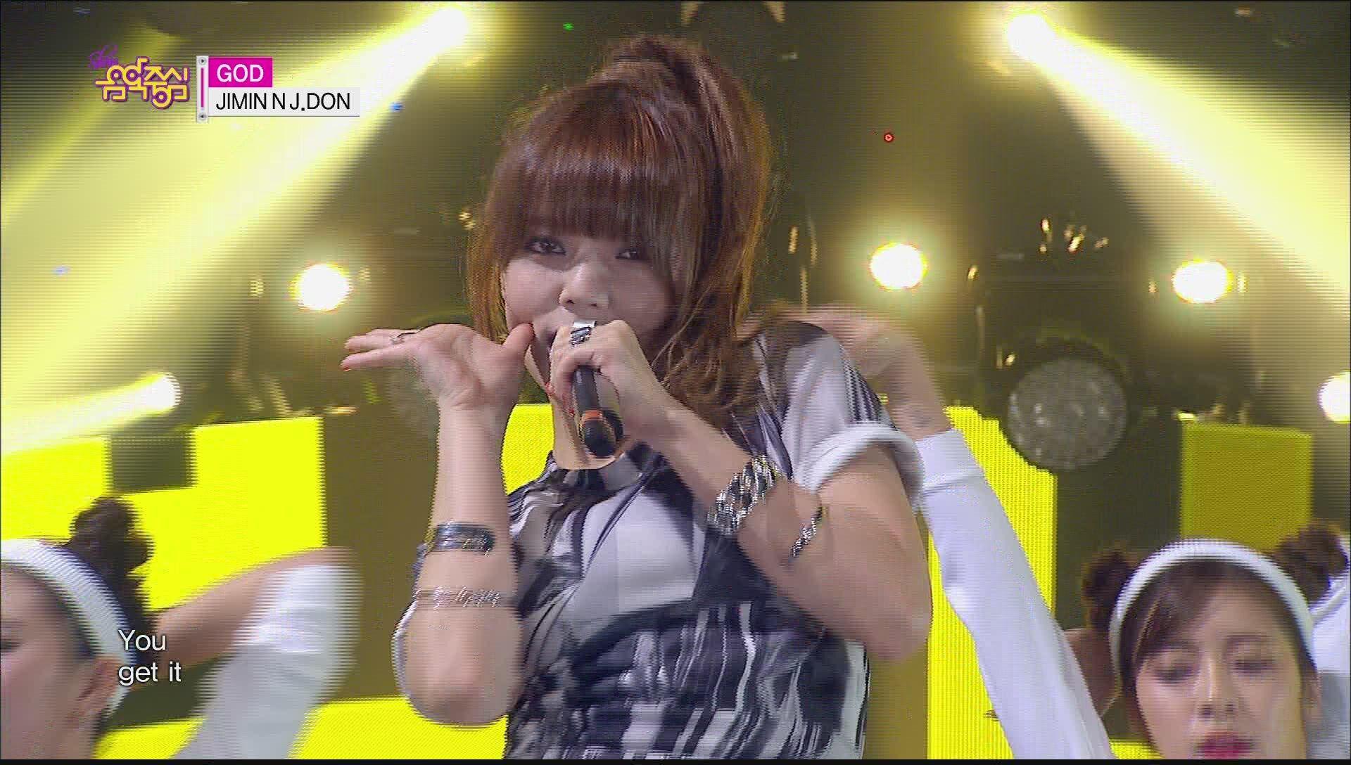 [HOT] JIMIN N J.DON - GOD, 지민 엔 제이던 - 갓, Show Music core 20150502