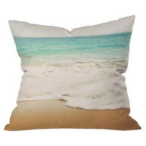 DENY Designs Ombre Beach Throw Pillow