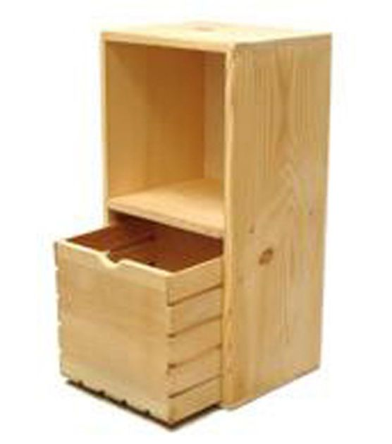 Woodline Works Double Cube Storage Shelf Diy Furniture Bedroom Cube Storage Shelves Painted Bedroom Furniture