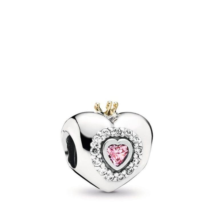 ciondolo pandora cuore principessa
