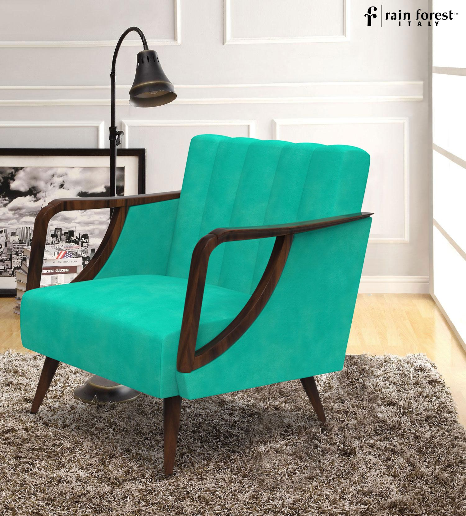 Brighten Your #Home With This   #Arctic Blue #Chair Designed By Rainforest  Italy Amazing Ideas