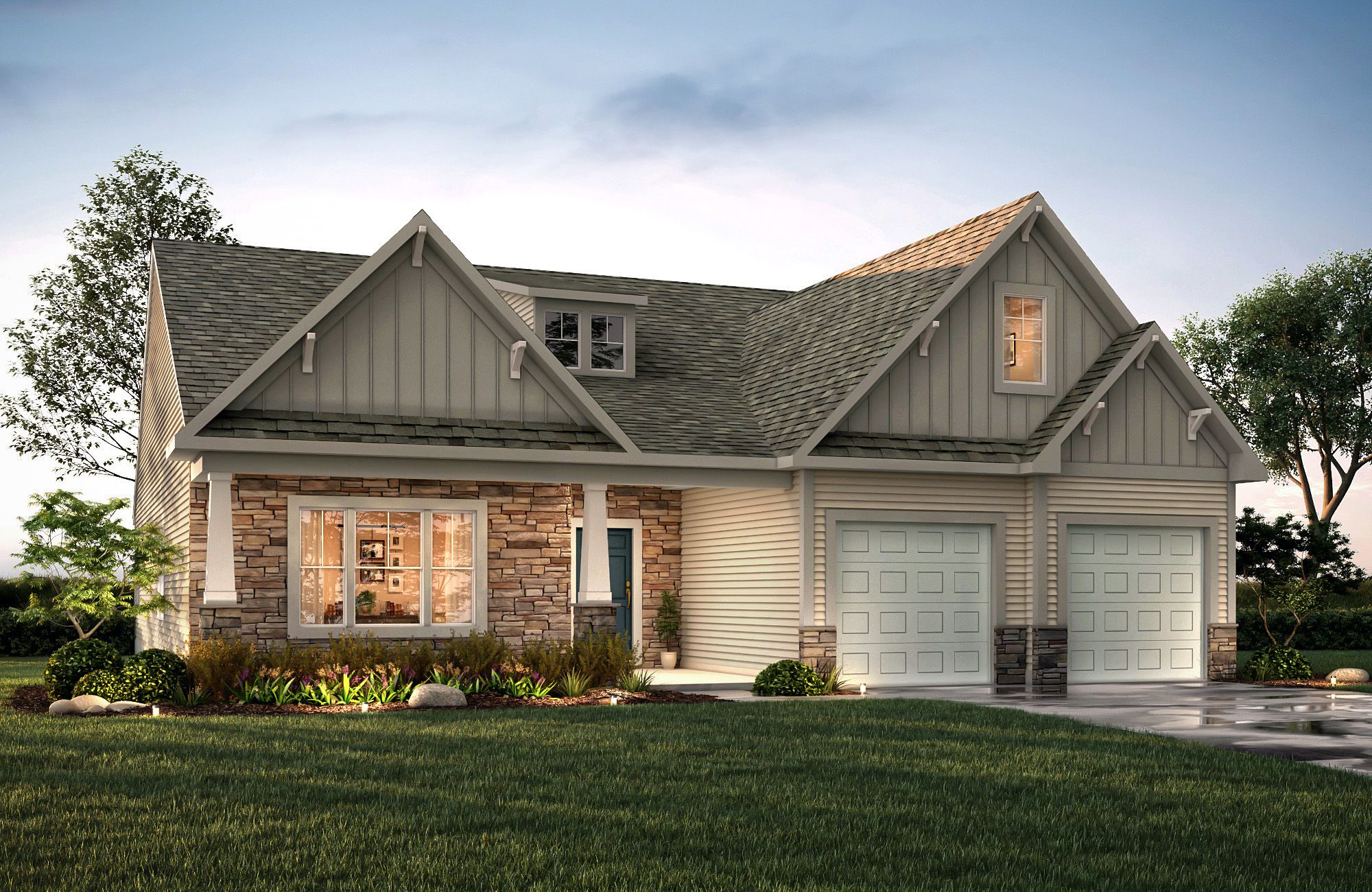 Brodrick T D3 True Homes House Styles House Elevation