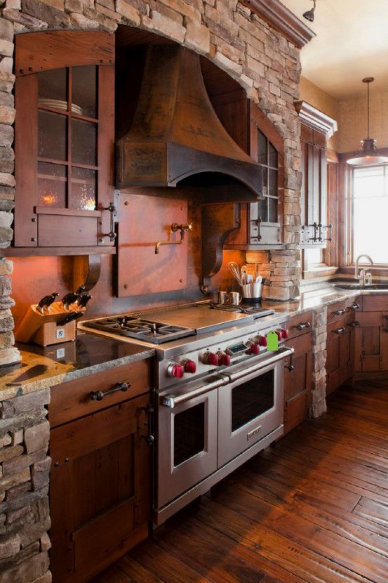 Stunning diy rustic kitchen ideas you can create for your home