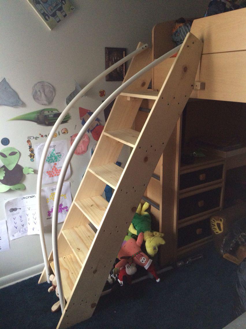 Toddler Bunk Bed Ladder Pvc Rails Kids Bunk Beds Kid Beds