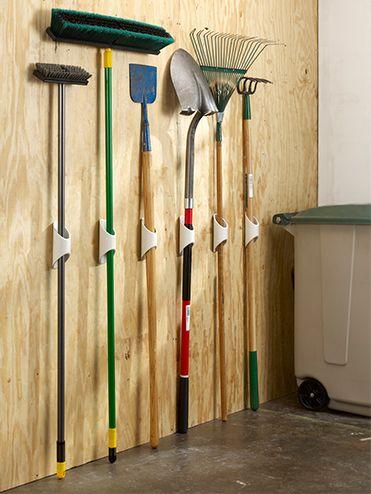 Garden tool holder ideas
