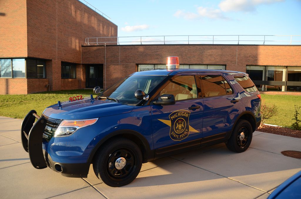Ford Explorer Michigan State Police car | State police, Ford ...