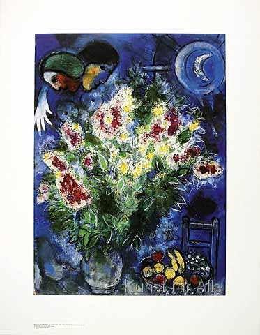 Marc Chagall - Blumenstilleben und Mimosen
