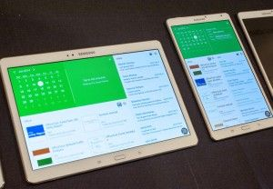 Samsung has announced its Galaxy Tab S which has already started to take pre-orders for its new 8.4 or 10.5 inch slabs.