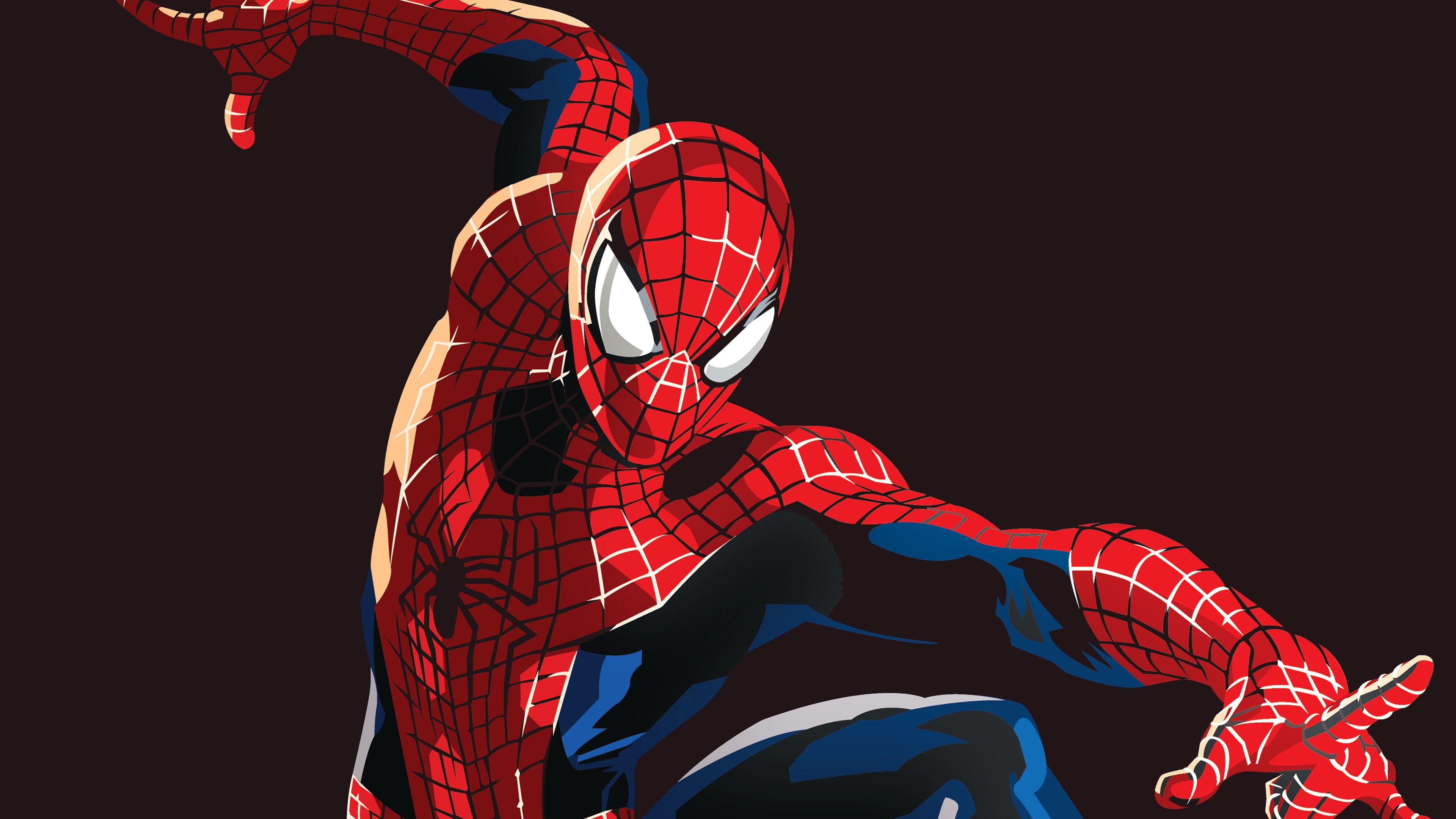 Wallpaper 4k Spiderman Graphic 4k 4kwallpapers, art