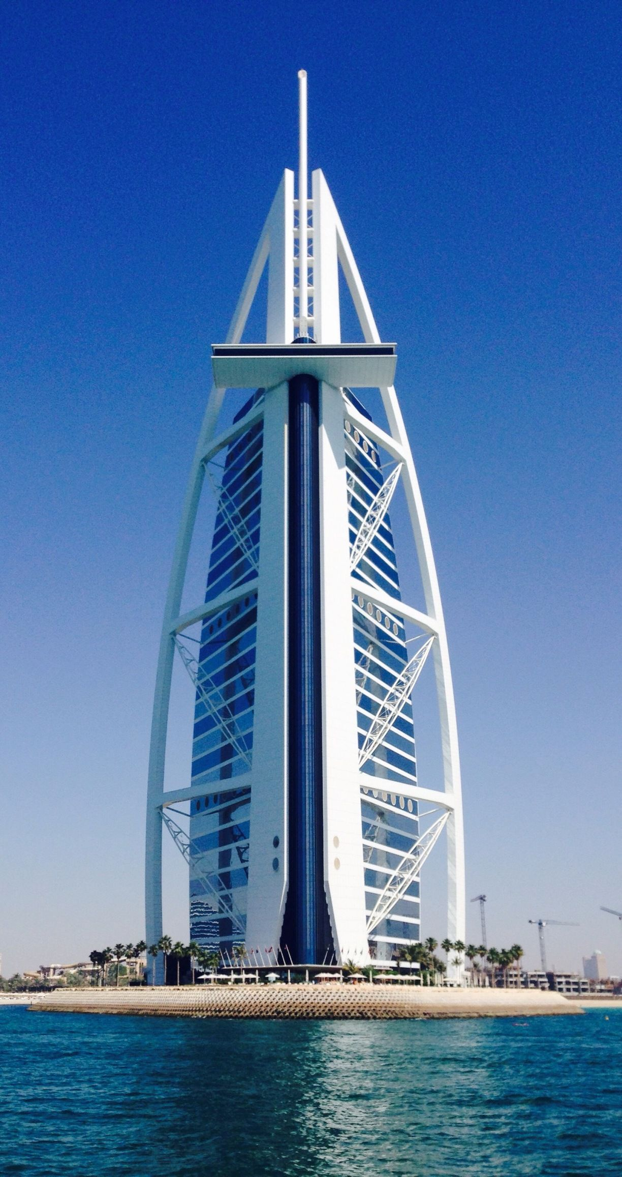 Burj al arab dubai united arab emirates by brandon for Burj arab hotel dubai