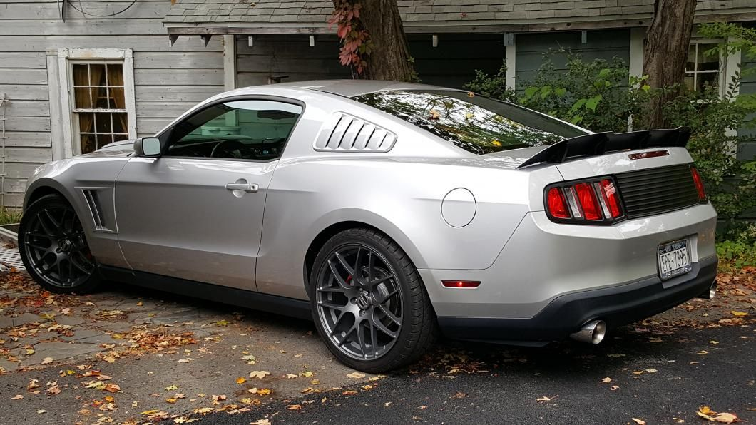 Mmd Downforce Aluminum Rear Spoiler 10 14 All Ford Mustang And