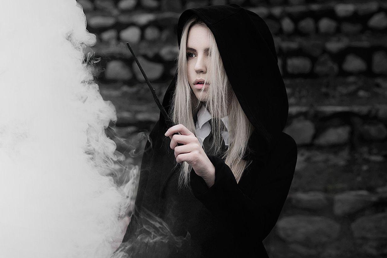 Harry Potter Slytherin Girls Draco Malfoy - ...