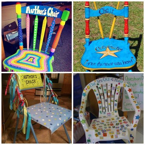 """Fun ideas for """"Share Chair"""" in the classroom 