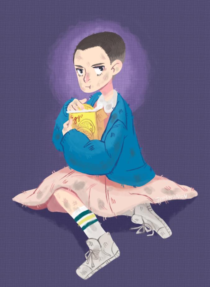 eggo-loving psychic child