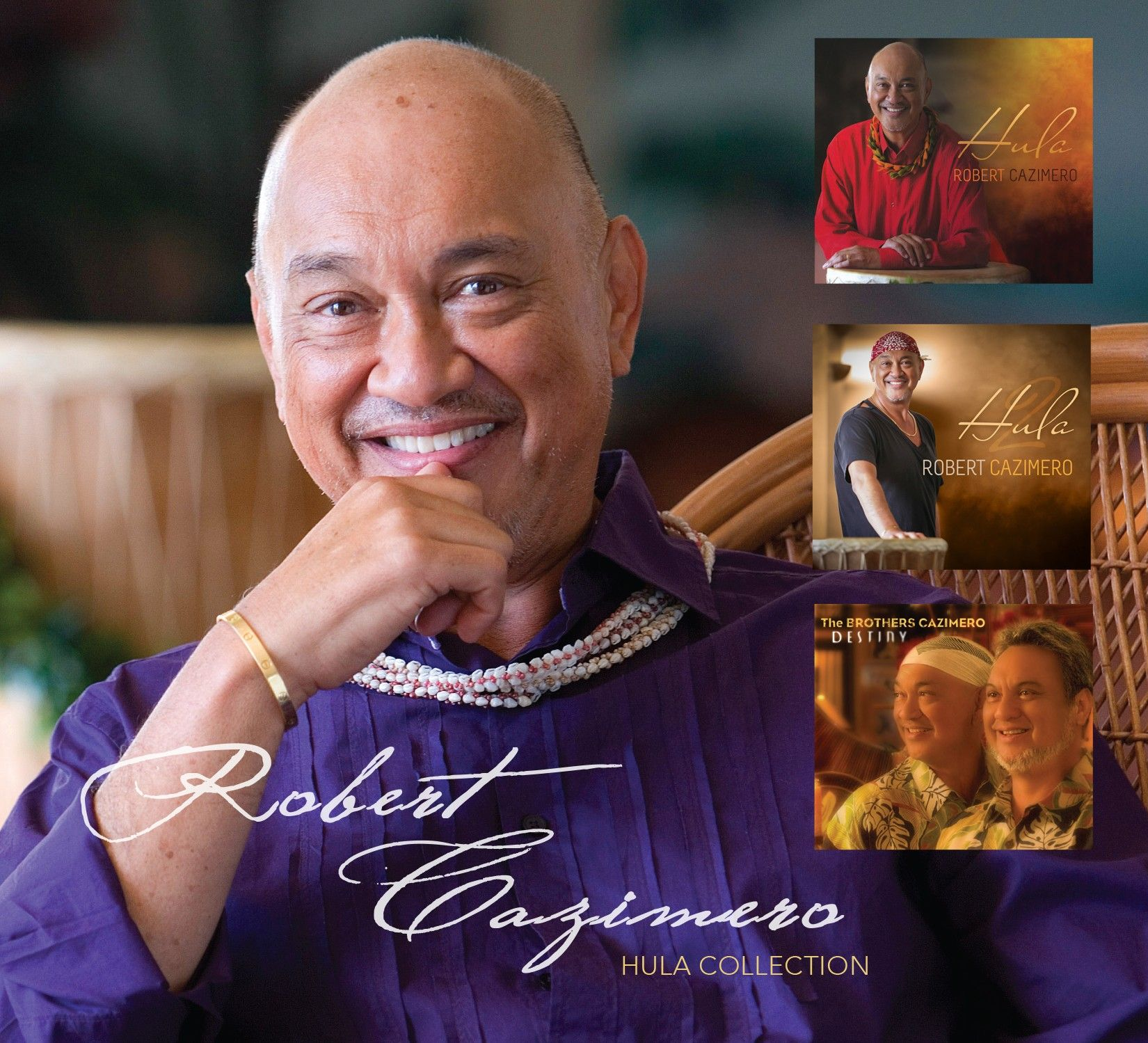 Robert Uluwehi Cazimero Three Disc Set