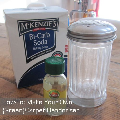 Make Your Own Carpet Deodoriser In Case You Have A Pee