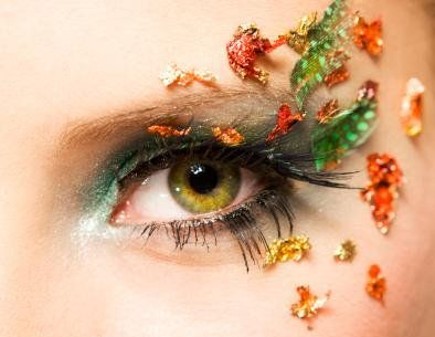 flowery  eye makeup pictures eye makeup colorful eye makeup
