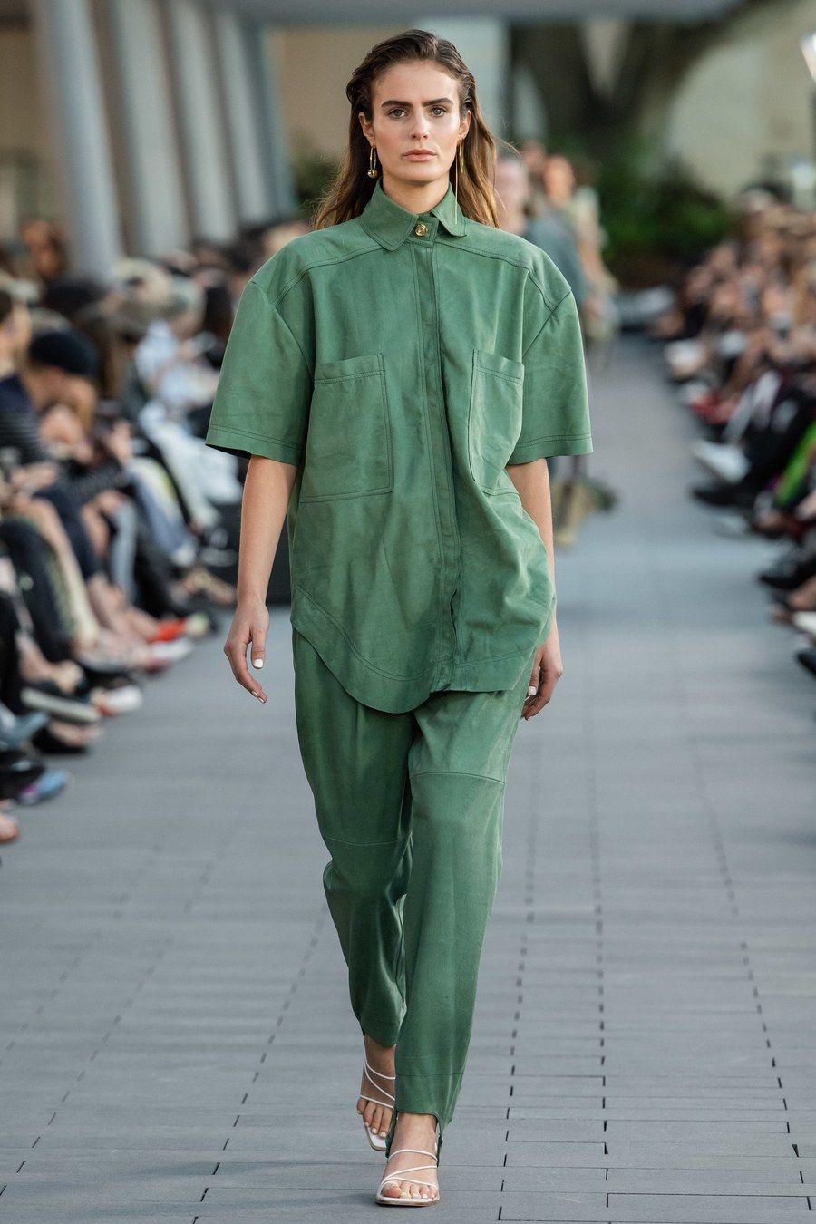 Aje Australia Resort 2020 Fashion Show Color Trends Fashion Fashion Fashion Show