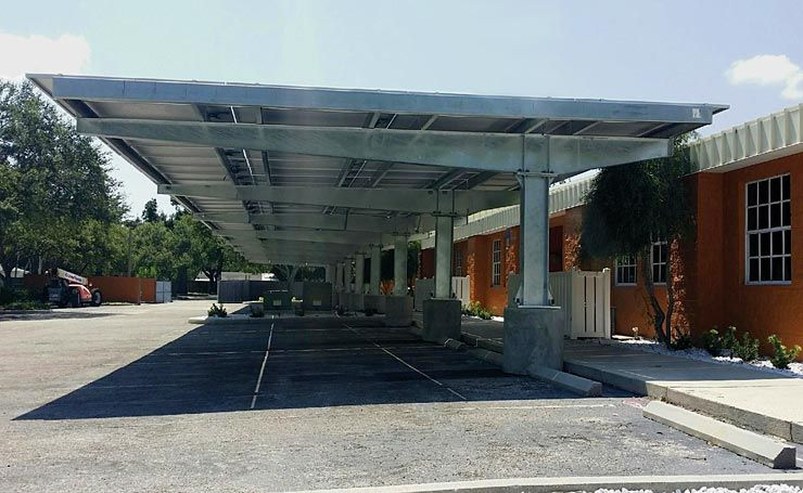 Large span carport pv carports without compromising Building on a lot