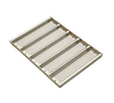Focusfoodservice 902505 125 In X 3 In Glazed Aluminum Sub Sandwich Roll Pan 5 Perf Molds Pack Of 6 You Can Find Out Mo Sub Sandwiches Pan Bread Sandwiches