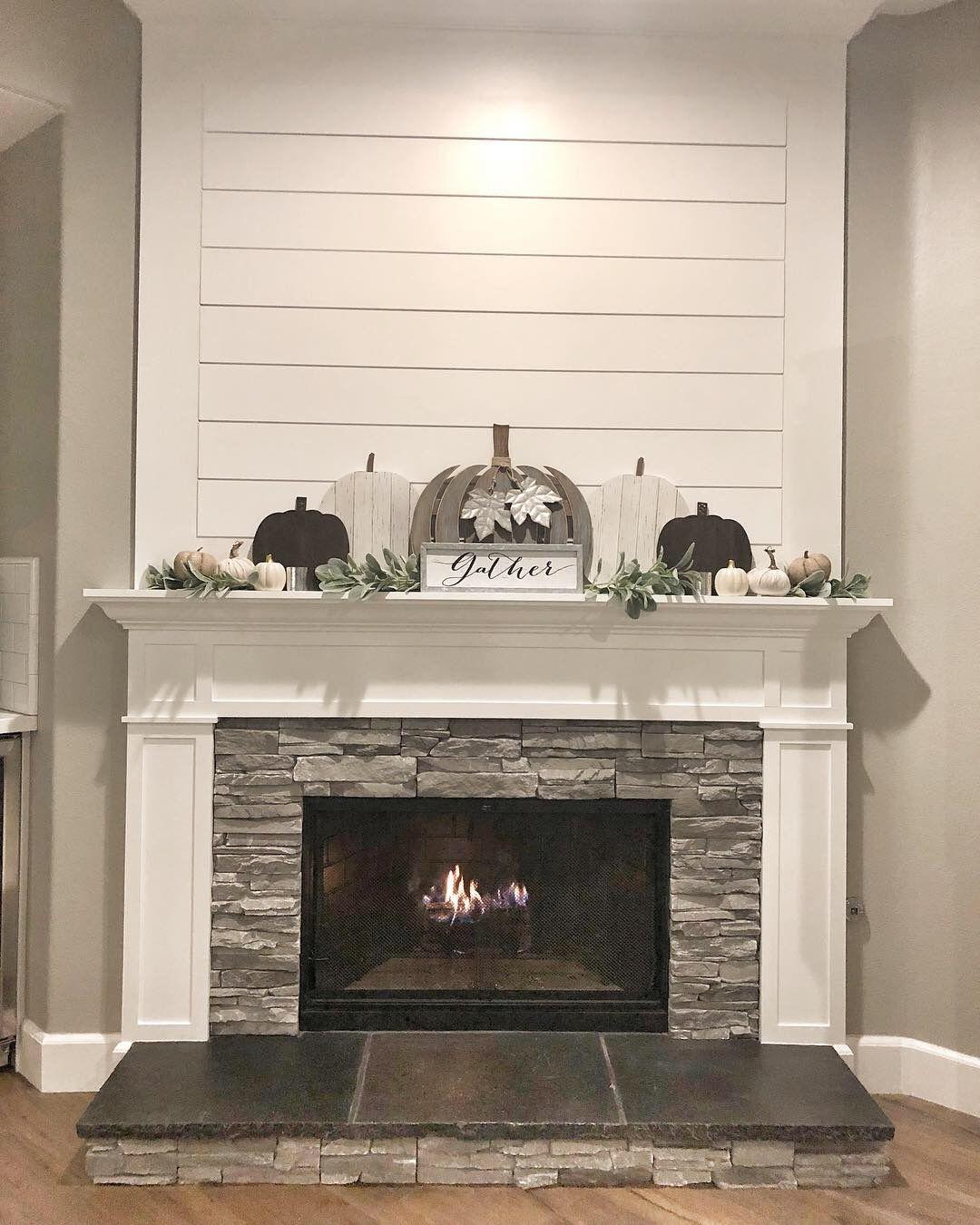 Shiplap Fireplace – Living Room Renovation Part 1