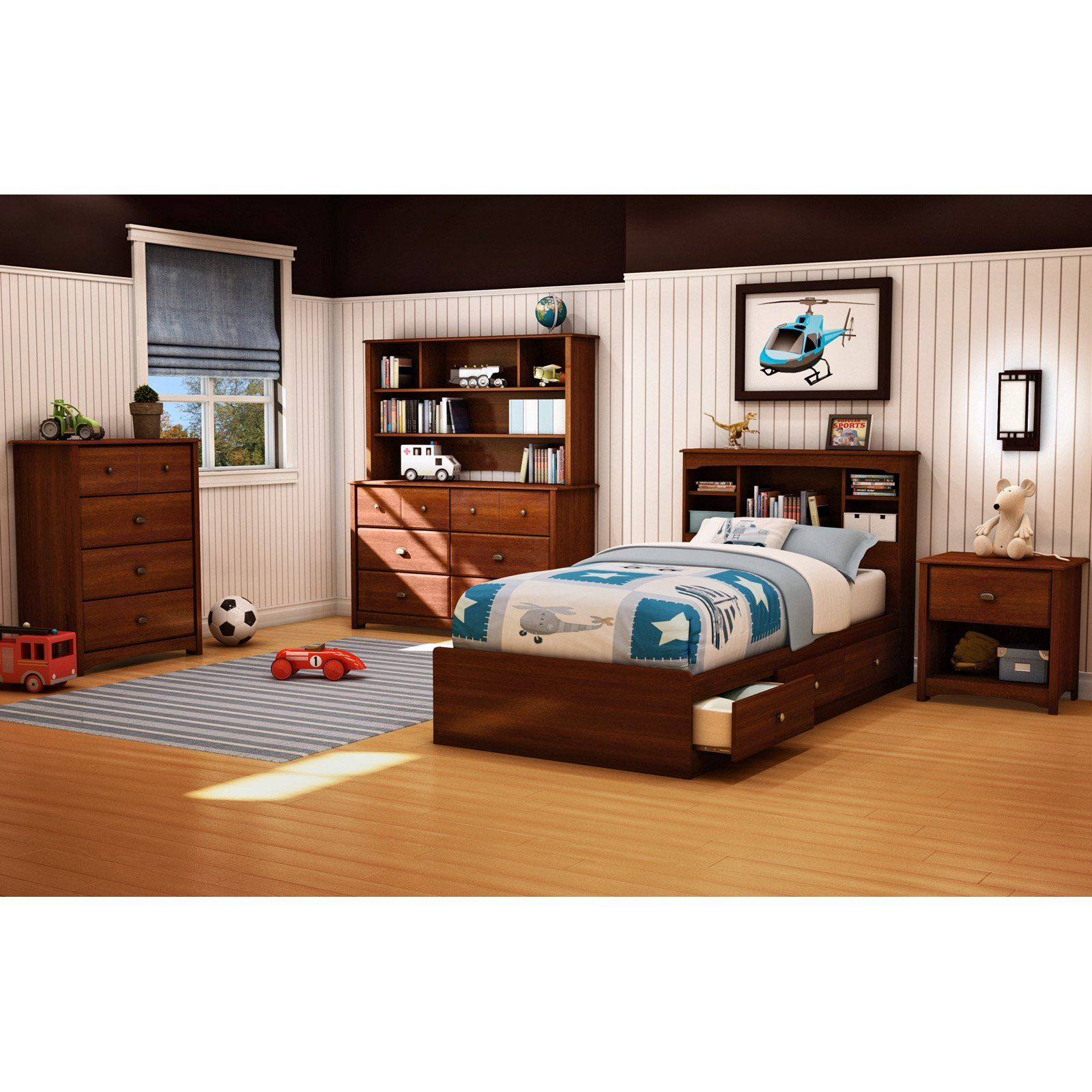 South Shore Willow Twin Mates Bookcase Bed Collection Bedroom Collections Furniture Bedroom Sets Kids Bedroom Furniture