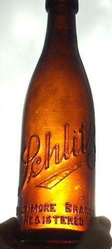 schlitz, bottle