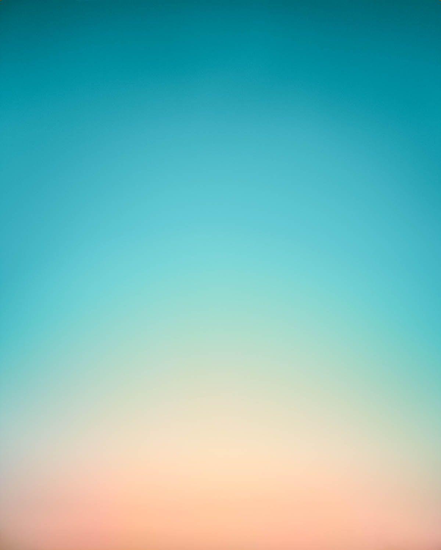 Eric Cahan. Sèries del Cel. Sky Series Selected Works. Gardiners Bay, NY Sunrise 6:27am