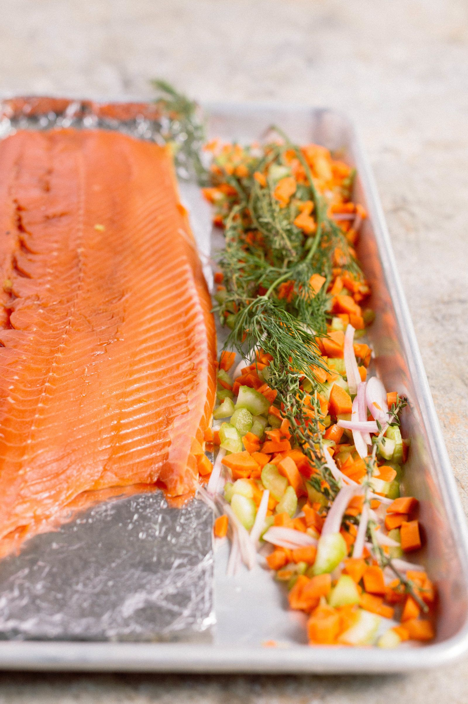 What and how can you make salmon fish from milk