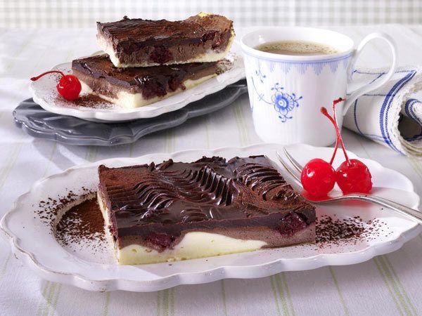 Blechkuchen - unsere Besten! - donauwellen-kaesekuchen25  Rezept